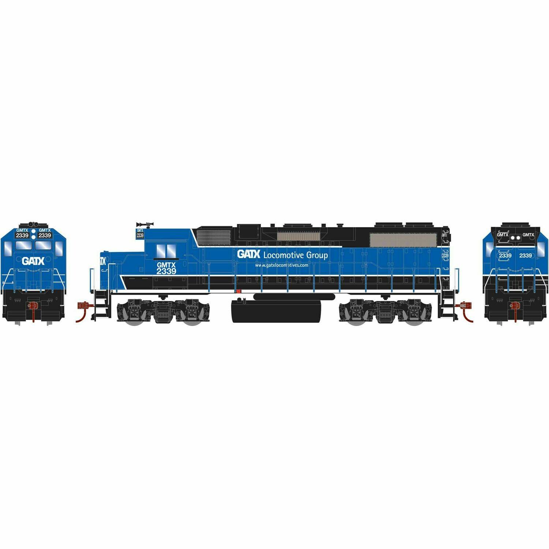HO GP38-2, GATX/Black and Blue #2339