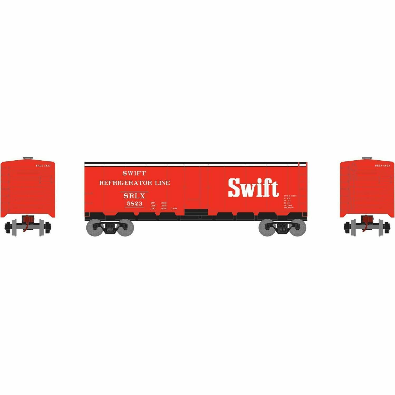 HO 40' Steel Reefer, Swift #5823