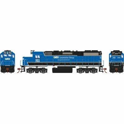 HO GP38-2, GATX/Black and Blue #2103
