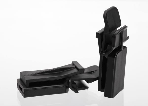 Battery hold-down retainer, tall (2) (allows for installation of taller, multi-cell batteries)