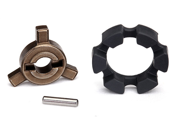 Cush drive key/ pin/ elastomer damper 2