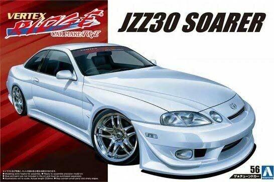 1/24 1996 Toyota JZZ30 Soarer 2-Door Car
