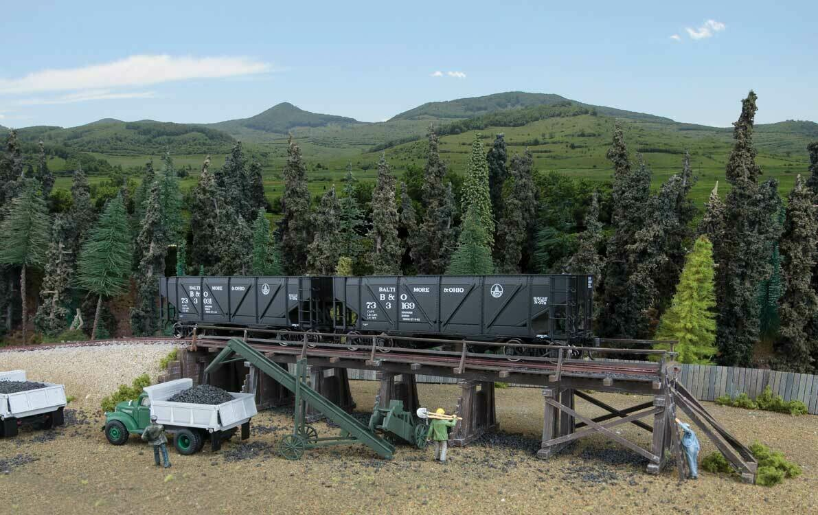 HO Coal Trestle Kit