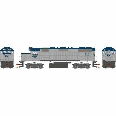 HO GP38-2 w/DCC Decoder, Amtrak #720