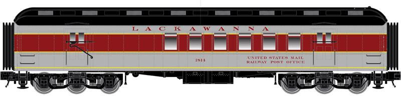 O Trainman 60' RPO Car, DL&W