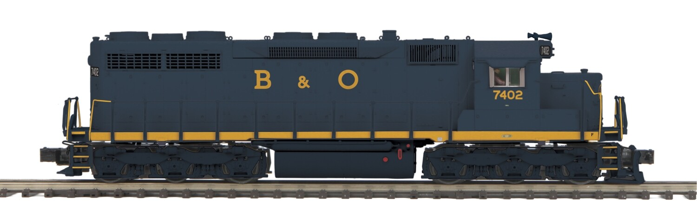 O SD35 Diesel B&O #7402/3.0/Hi-Rail