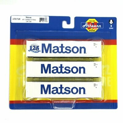 N 40' Low-Cube Container, Matson