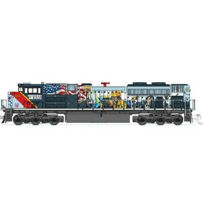 """N EMD SD70ACe Union Pacific #1111 """"PBOP"""" w/ DCC"""