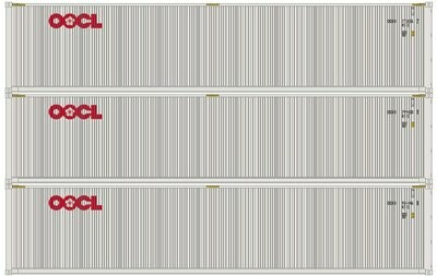 N 40' Low-Cube Container, OOCL