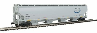 Walthers Proto 67' 4 Bay Covered Hopper CHS #580044