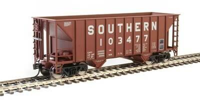 34' 100-Ton 2-Bay Hopper - Ready to Run -- Southern Railway #103477 (Brown)
