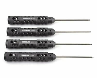 "ProTek RC ""TruTorque SL"" Metric Ball End Hex Driver Set (4) (1.5mm, 2.0mm, 2.5mm, 3.0mm)"