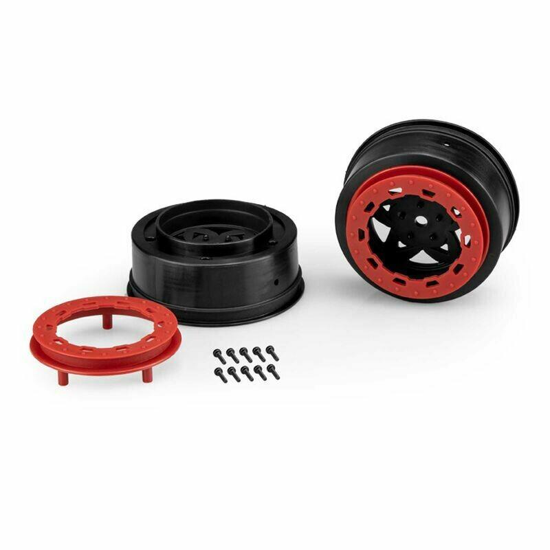 Tremor Slash narrow front wheel-BLK/RED BDLCK (2)