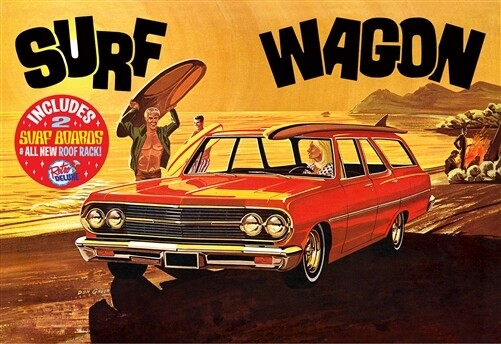 1/25 1965 Chevelle Surf Wagon