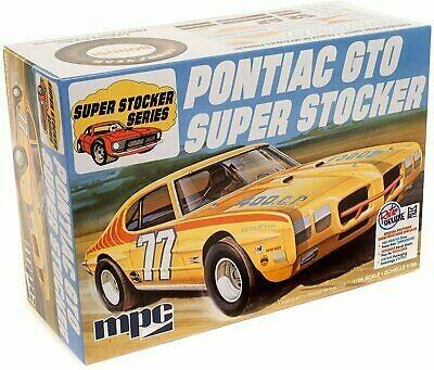 1/25 1970 Pontiac GTO Super Stocker Race Car