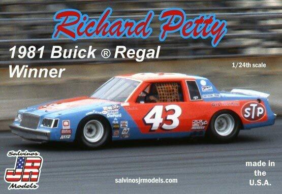 1/24 Richard Petty #43 Buick Regal 1981 Daytona