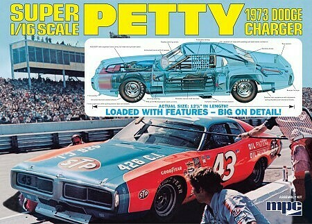 1/16 1973 Dodge Charger Petty