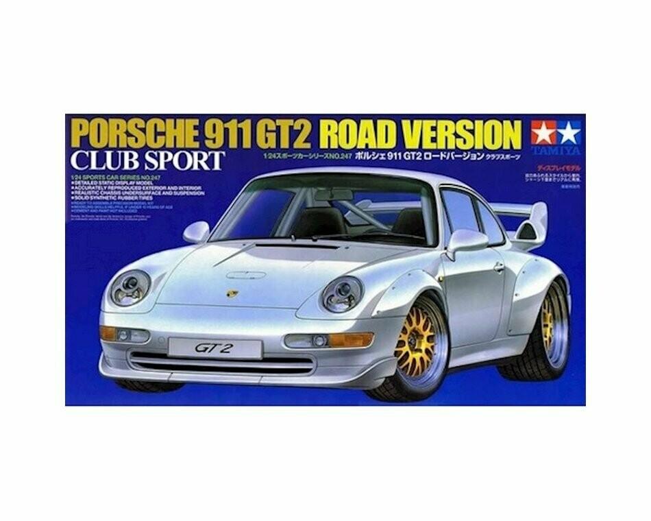 1/24 Porsche GT2 Street Version