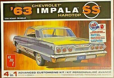 1/25 1963 Impala SS 4 n 1 Kit