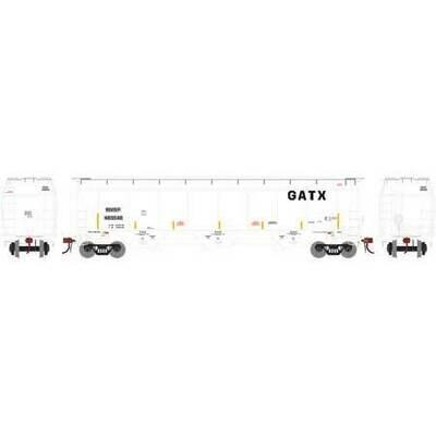 HO Trinity 3-Bay Hopper, BNSF ex GATX #489548