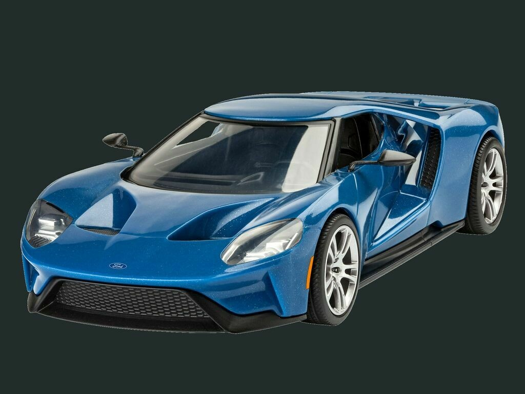 1/24 2017 Ford GT Sports Car (Snap)