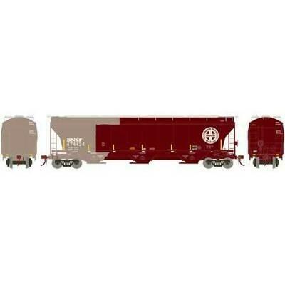 HO Trinity 3-Bay Hopper, BNSF/Patch #474424