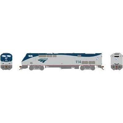 HO AMD103/P42DC w/DCC & Sound, Amtrak/Phase V #114