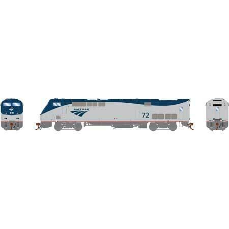 HO AMD103/P42DC w/DCC & Sound, Amtrak/Phase V #72