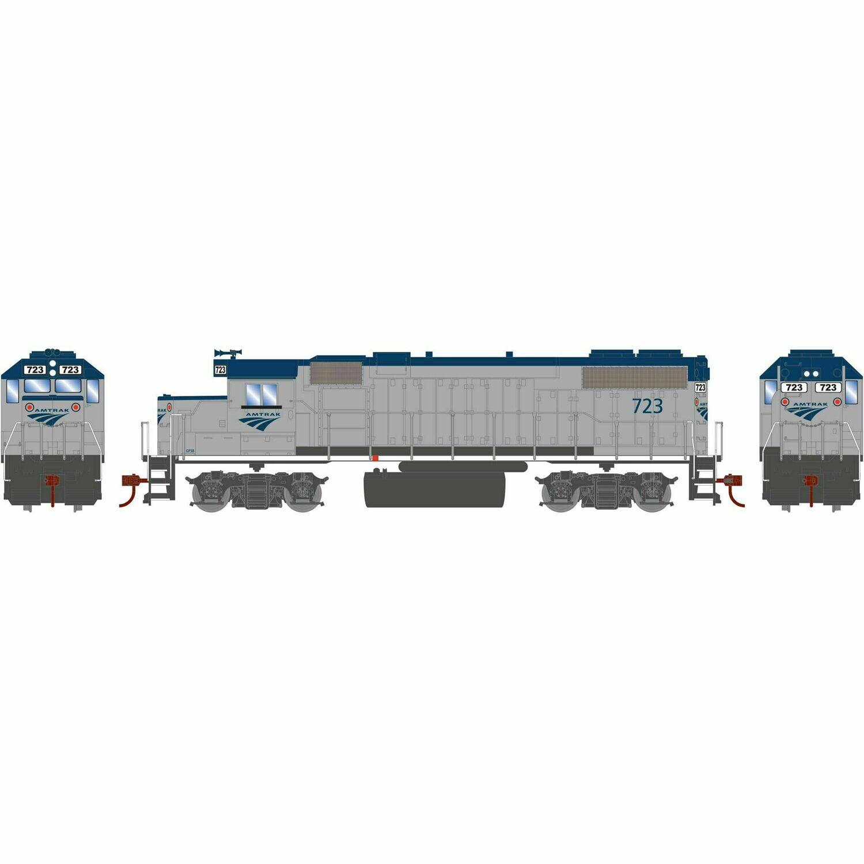 HO GP38-2 w/DCC Decoder, Amtrak #723