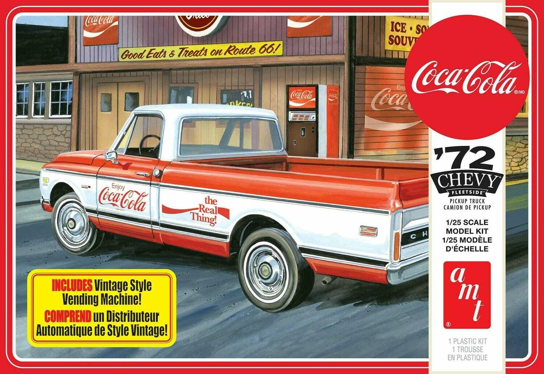 1972 Chevy Pickup w/Vending Machine & Crates