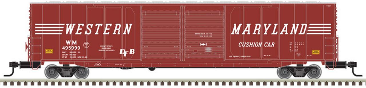 HO 60' Double Door Auto Box, WM #495993