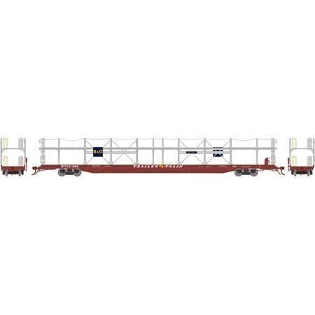 HO F89-F Bi-Level Auto Rack, B&O #911888
