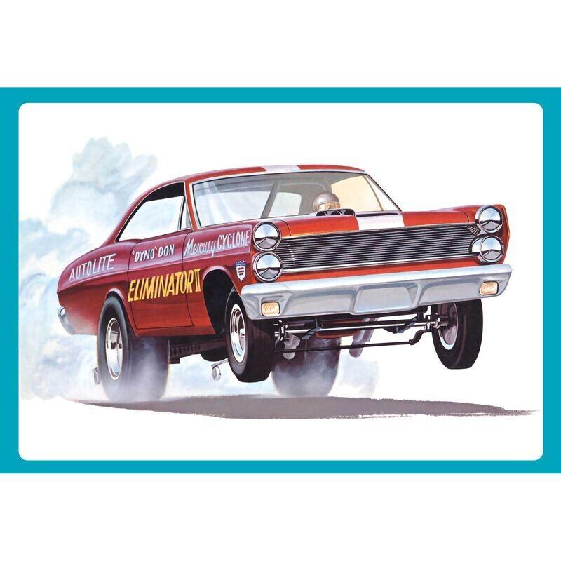 1/25 1967 Mercury Cyclone Eliminator II/Dyno Don