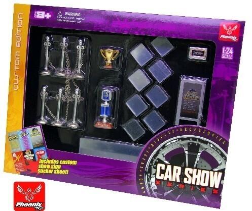1/24 Car Show Accessory Set
