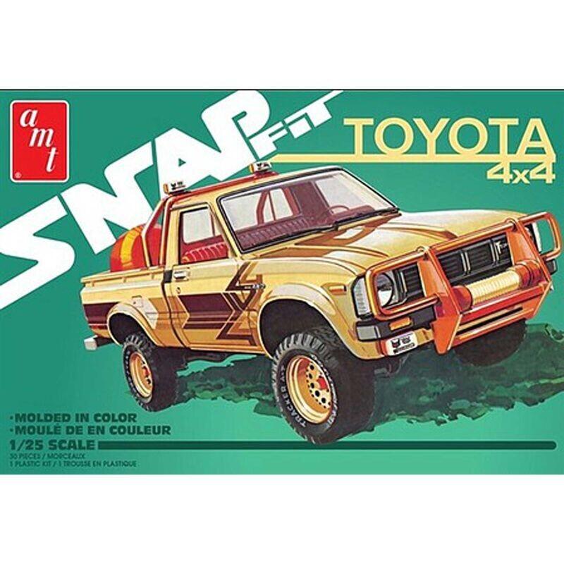 1/25 1980 Toyota 4x4 Pickup Truck (Snap)