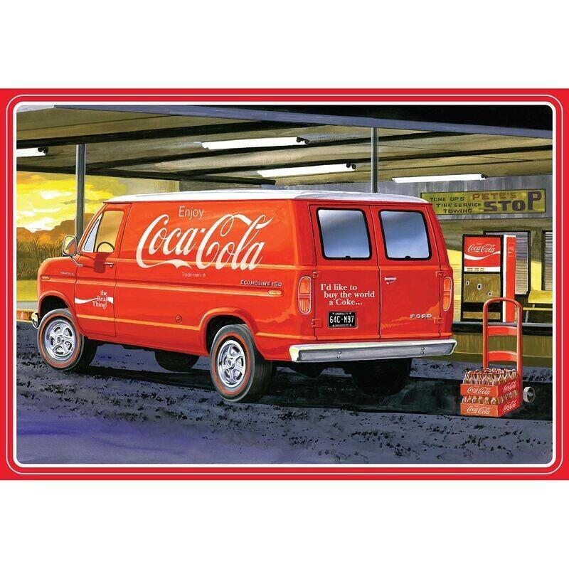1/25 1977 Ford Van w/Vending Machine Coca-Cola