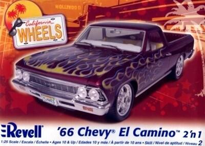 1/25 66 Chevy El Camino 2 in 1