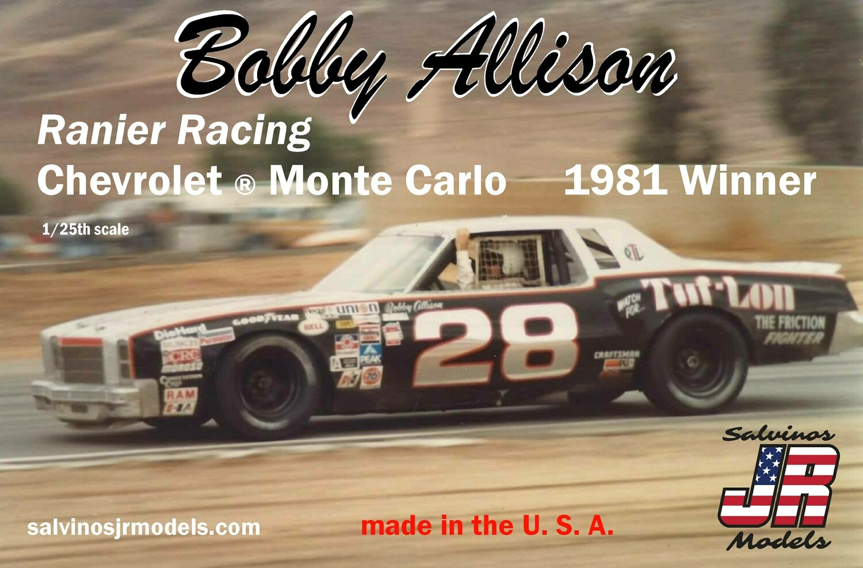 1981 BOBBYALLISON MONTE CARLO