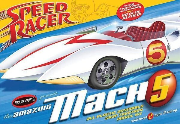 1/25 Speed Racer Mach V (Snap)