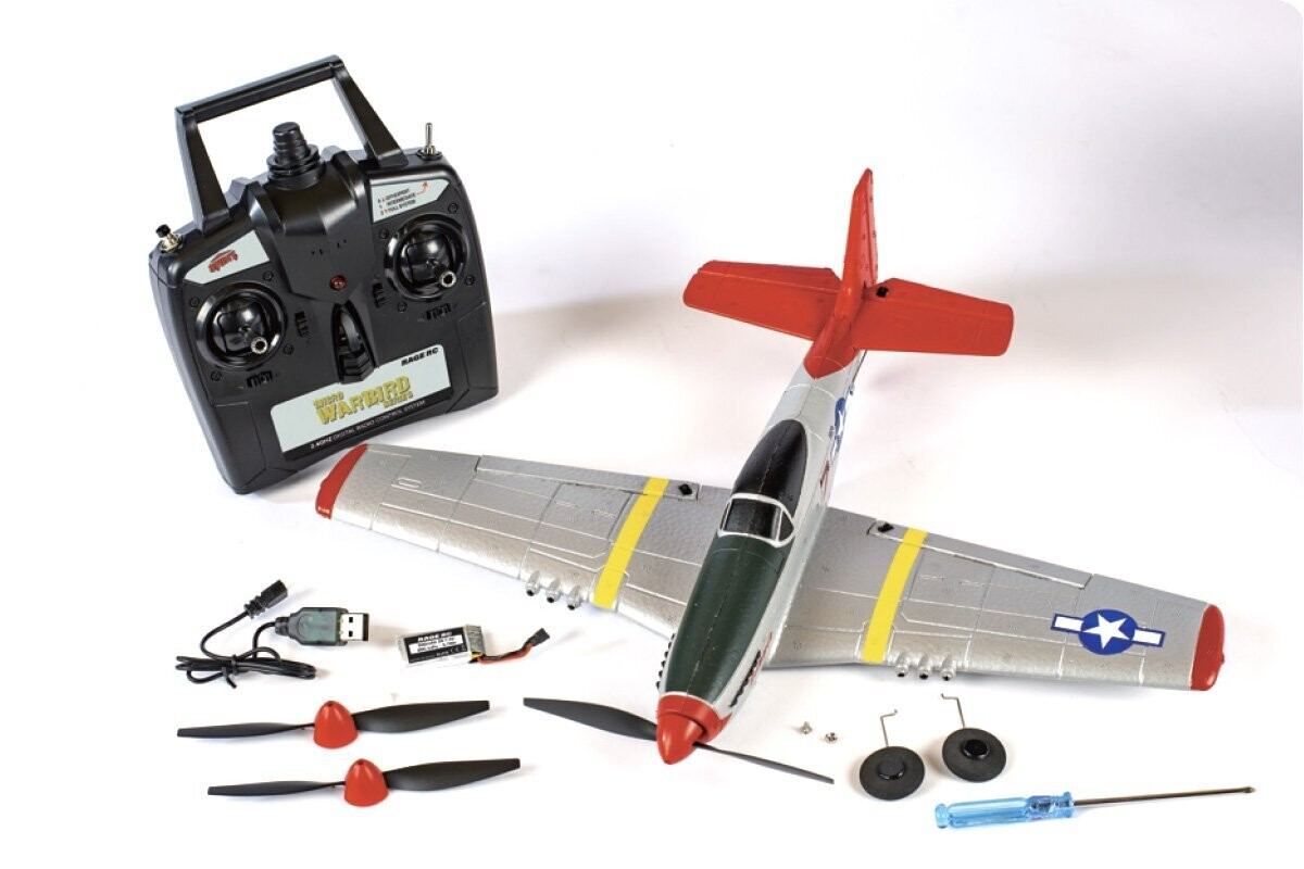 P-51D Mustang Micro RTF