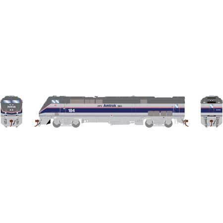HO AMD103/P42DC w/DCC & Sound,Amtrak/Phase IV #184