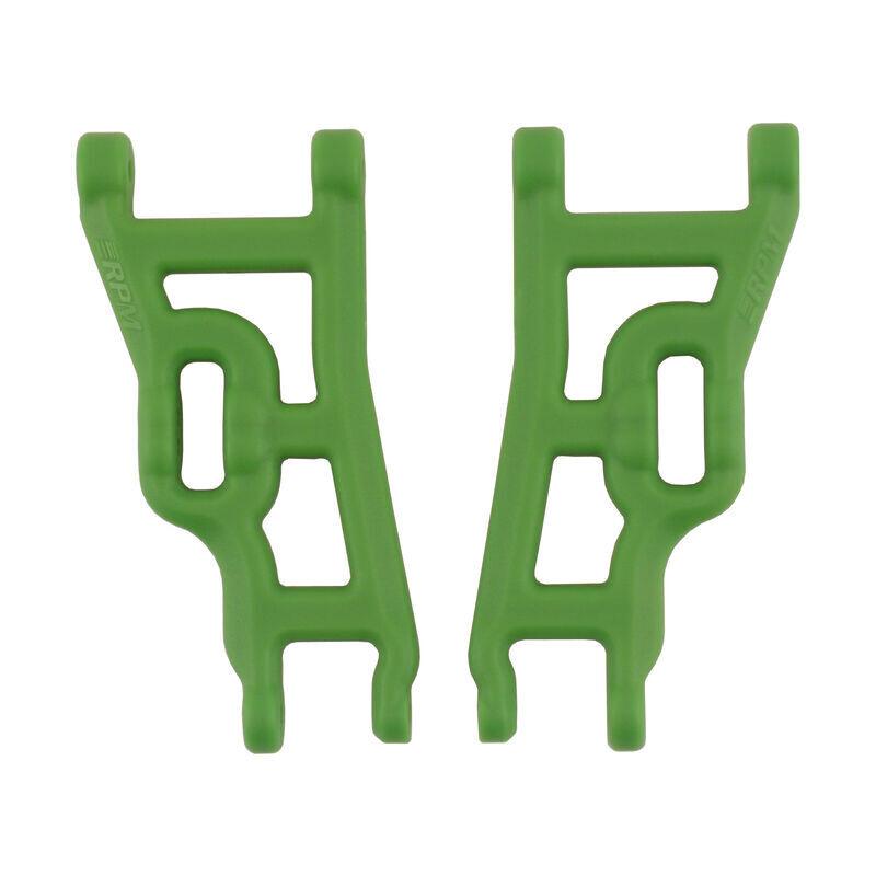 FRONT A-ARMS GREEN E-STAMP 2WD E-RUS SLASH 2WD NITRO
