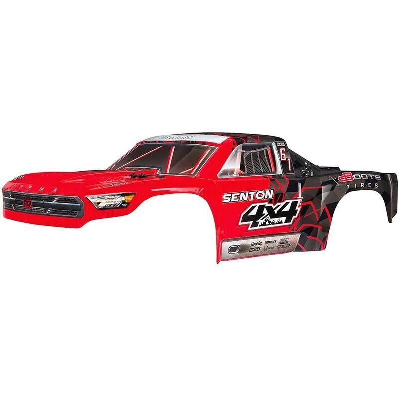 AR402251 Body Painted Decal Trim Red Senton Mega