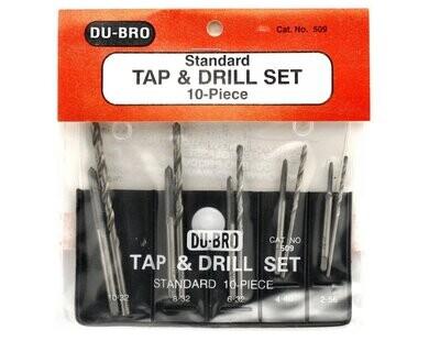 Tap & Drill Set, Standard