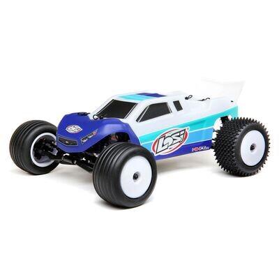 Mini-T 2.0 2WD Stadium Truck Brushless RTR, Blue