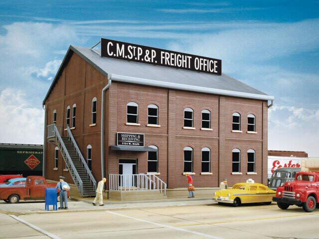 Brick Freight Office -- Kit