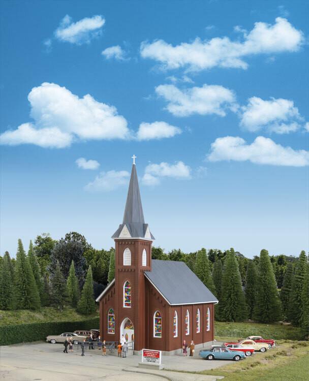 Brick Church Kit