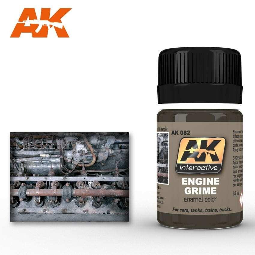 Engine Grime Enamel Paint 35ml Bottle