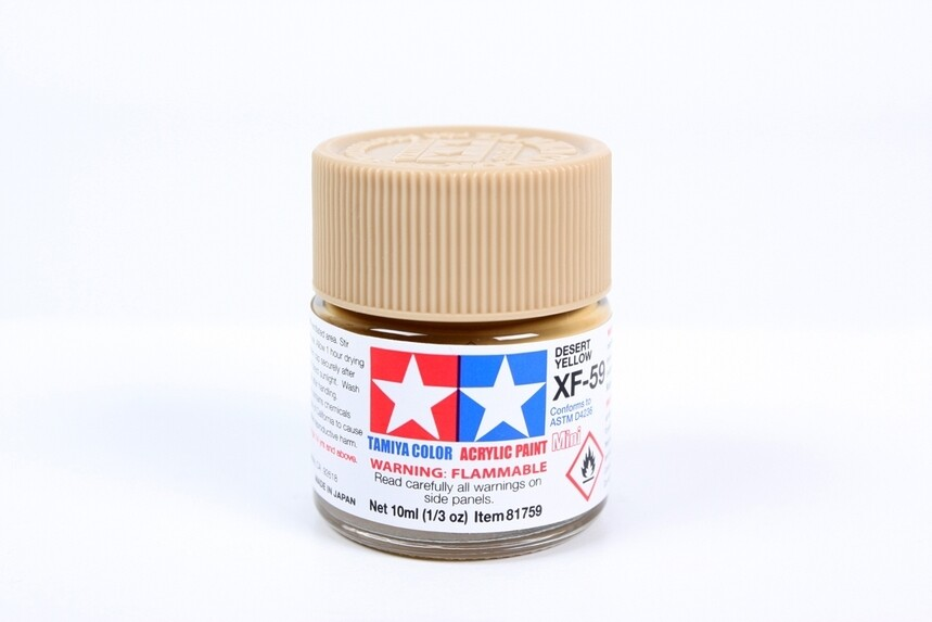 Acrylic Mini XF59, Desert Yellow 10ml