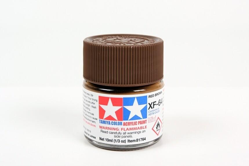 Acrylic Mini XF64, Red Brown